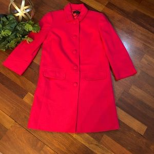 TALBOTS Lightweight Jacket Berry Pink Women's Sz2